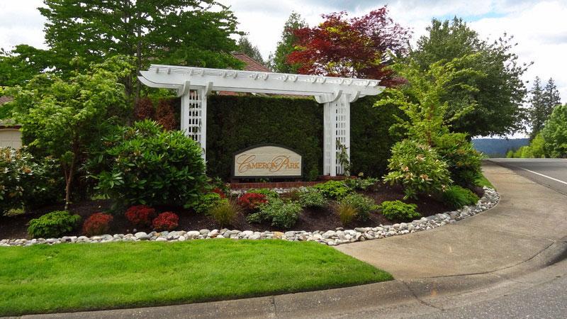 Grina Landscape Design, LLC Projects - Gig Harbor Area on driveway home design, parking roof design, stations for cars parking design,